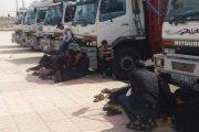 بالصور : إضراب الشاحنات لنقل الخضر والفواكه يرفع الأسعار والمواطنون يشتكون