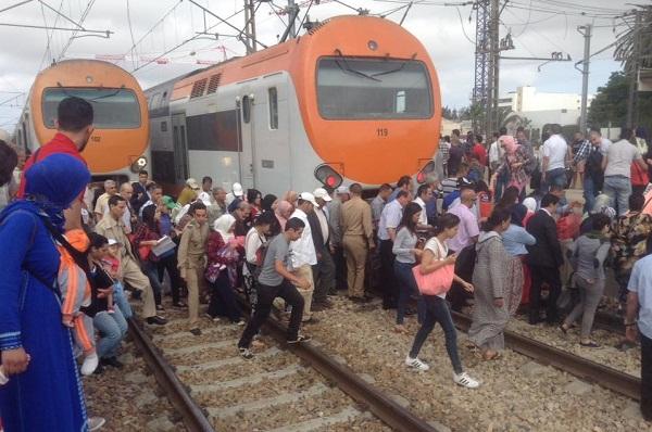 ONCF يرد على احتجاجات المسافرين بالمحطات