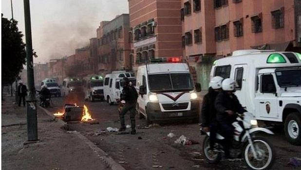 مراكش.. عنف وأسلحة بيضاء ورصاص لتوقيف مجرم خطير