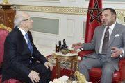 الملك يعزي السبسي إثر الهجوم الإرهابي الذي استهدف العاصمة تونس