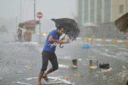 نشرة إنذارية...رياح وأمطار عاصفية قوية في عدة مدن