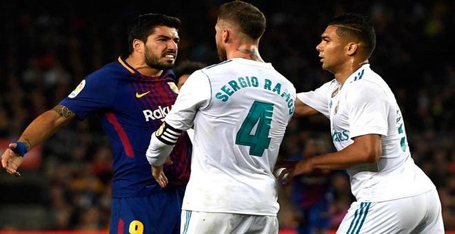 سواريز يتحدت عن مستوى ريال مدريد قبل الكلاسيكو