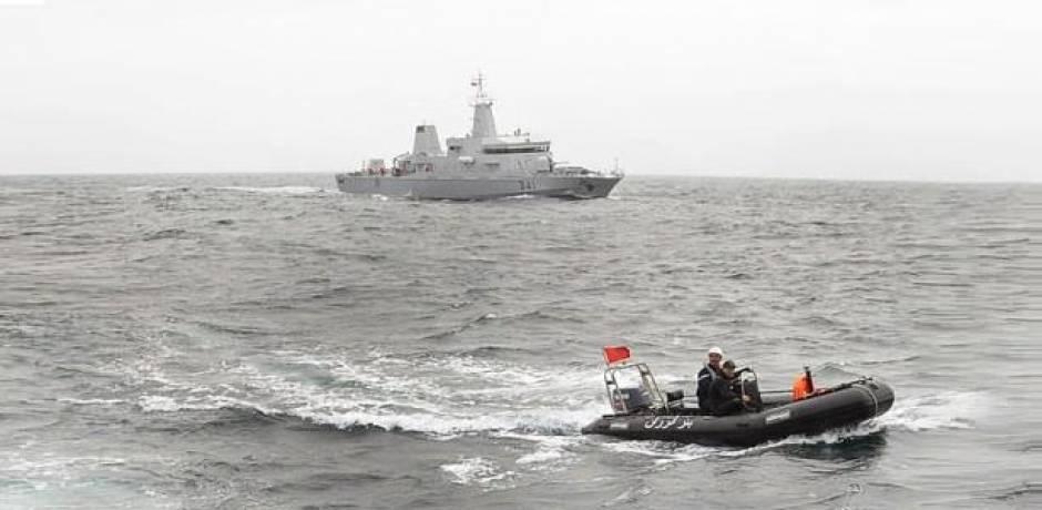 البحرية الملكية تقدم المساعدة لـ 54 مهاجراً سرياً بالسعيدية