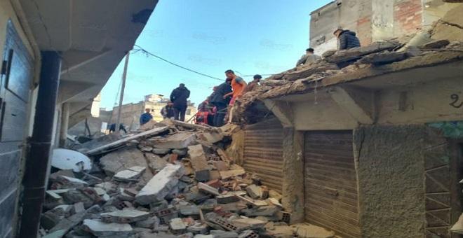 الدارالبيضاء..انهيار منزل من أربعة طوابق بالمدينة القديمة