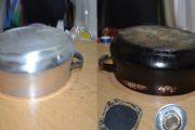 طرق سهلة ومبتكرة لتنظيف أواني الألومنيوم المحترقة