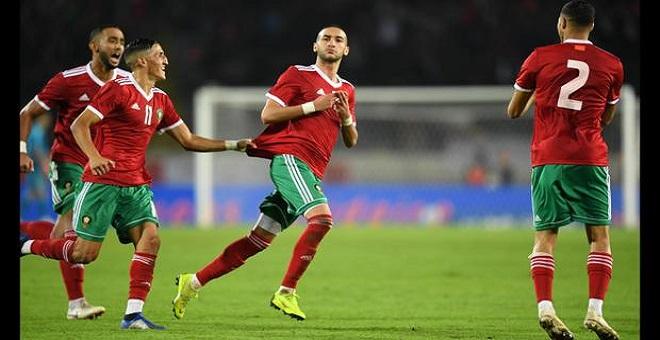 فوز تاريخي للمنتخب المغربي في تصفيات كأس افريقيا للأمم 2019