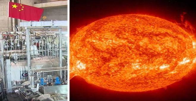 بالفيديو.. الصين تبتكر شمسا إصطناعية حرارتها أقوى من الشمس بـ6 مرات