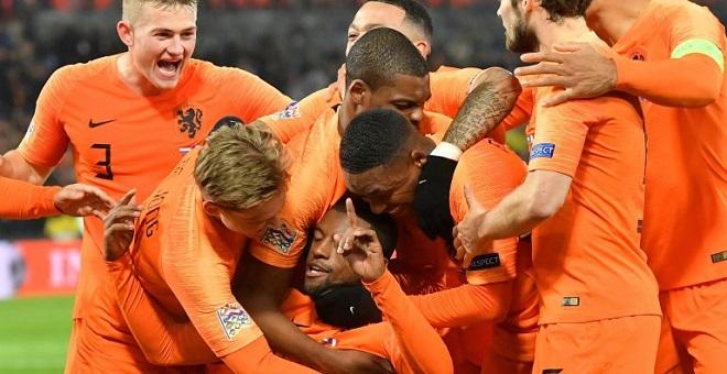 المنتخب الهولندي ينتصر على فرنسا ويطيح بألمانيا