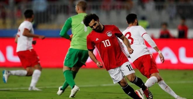 صلاح يقود مصر لفوز صعب على تونس