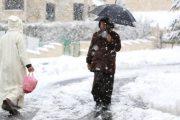 نشرة خاصة.. أمطار رعدية مع تساقط ثلوج يومي السبت والأحد