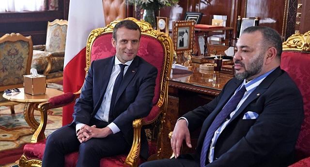 الملك يهنئ ماكرون بمناسبة العيد الوطني لفرنسا