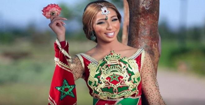 دنيا باطمة تحتفل بالمسيرة الخضراء في البحرين