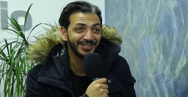 حمزة الفاضلي يخطف جائزة أفضل فنان في شمال إفريقيا