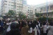 وفاة تلميذ في حادثة سير خلال الاحتجاج على