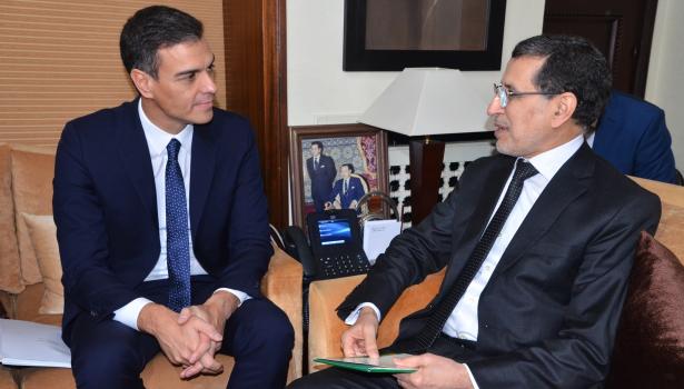 سانشيز: عازمون على تعزيز التعاون مع المغرب لمحاربة الهجرة السرية