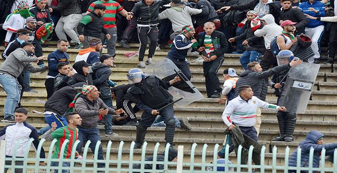 شغب الملاعب..مقطع فيديو يثير غضب الجزائريين