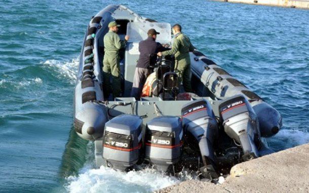 البحرية الملكية تحجز كمية ضخمة من