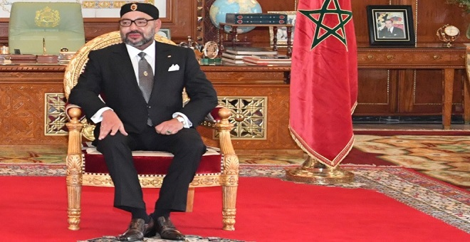 الملك يؤكد أن القضية الفلسطينية هي مفتاح الحل الدائم والشامل بالشرق الأوسط