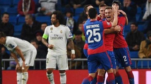 سيسكا موسكو يهزم الريال في ملعبه وأمام جماهيره