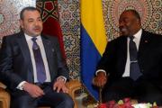 الملك محمد السادس يزور الرئيس الغابوني بالمستشفى العسكري للرباط