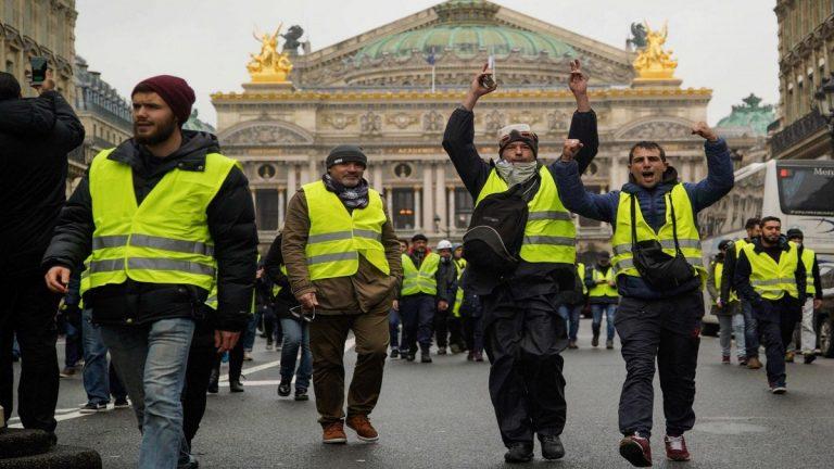 اعتقال 278 شخصا في باريس قبيل انطلاق مظاهرات