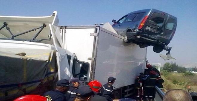 حصيلة حرب الطرق بالمغرب في ظرف أسبوع
