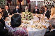 الملك يقيم مأدبة عشاء على شرف الوزير الأول التشيكي