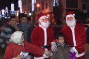 الاستعدادات للاحتفالات برأس السنة الميلادية تغزو الشوارع