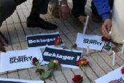 الشموع والورود تتقاطر على سفارتي الدنمارك والنرويج