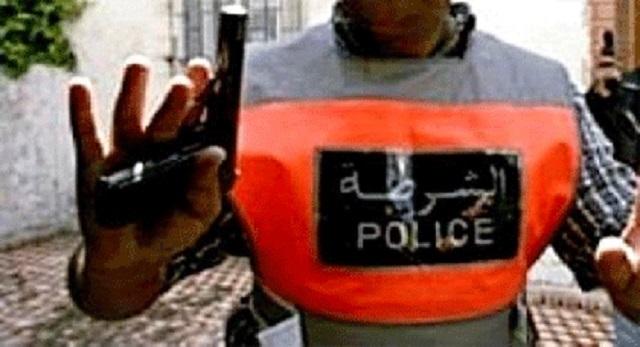 أمن خنيفرة يطلق النار لتوقيف شخص عرض حياة المواطنين للخطر