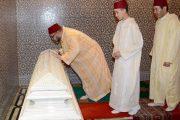 الملك يترأس حفلا دينيا إحياء للذكرى الـ20 لوفاة المغفور له الملك الحسن الثاني