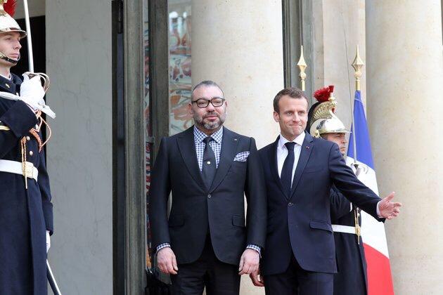 الملك محمد السادس يعزي ماكرون في وفاة ضحايا اعتداء ستراسبورغ