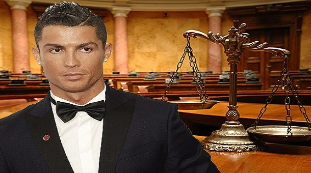 رونالدو يمثل أمام المحكمة لاتهامه بالتهرب الضريبى