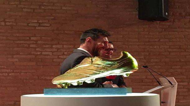 ميسي يتصدر المرشحين لجائزة الحذاء الذهبى