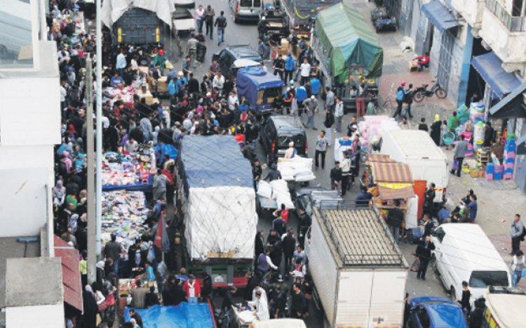 مطالب عديدة قادت تجار البيضاء للاحتجاج.. هذه أبرزها