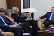 العثماني يستقبل موغيريني لمناقشة علاقات الشراكة بين المغرب والاتحاد الأوروبي