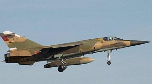 طائرة للقوات الملكية الجوية تسقط خلال تدريب
