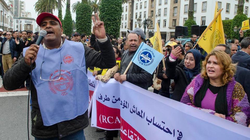 في مسيرة حاشدة.. الاتحاد الجهوي لنقابات البيضاء يدين تعطيل الحوار الاجتماعي