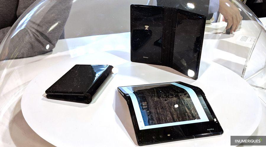 ''FlexPai'' .. أول هاتف ذكي بشاشة قابلة للطي
