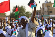 عقب احتجاجات عارمة.. التقدم والاشتراكية يتضامن مع الشعب السوداني