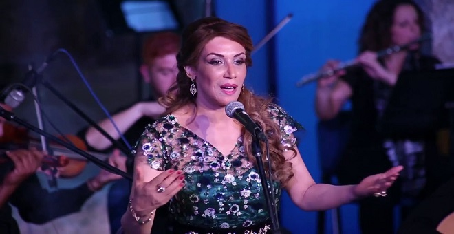 سميرة القادري نجمة مهرجان الشارقة للموسيقى العالمية