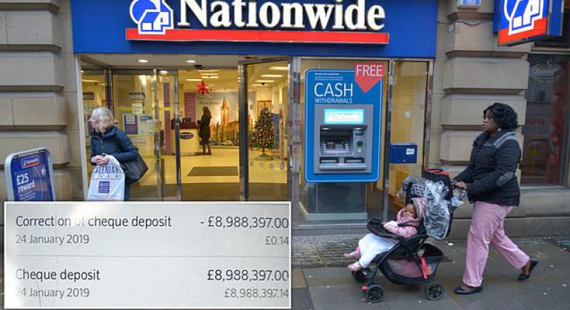 بسبب خطأ مصرفي.. شاب بريطاني يصبح مليونيرا