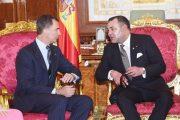 الملك محمد السادس والعاهل الإسباني يترأسان حفل التوقيع على عدة اتفاقيات