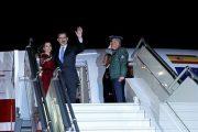 الملك فيليبي السادس والملكة ليتيثيا يغادران المغرب في ختام زيارة رسمية