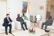 الرئيس الإيفواري يستقبل بوريطة حاملا رسالة شفوية من الملك