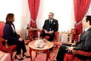 الملك يستقبل المديرة الجديدة لصندوق الحسن الثاني ومدير صندوق إثمار الموارد