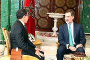 ملف العلاقات الثنائية يجمع العاهل الإسباني بالعثماني