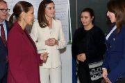 الملكة ليتيسيا والأميرة للا مريم تزوران مدرسة الفرصة الثانية بسلا