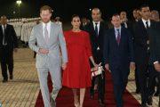 الأمير هاري وعقيلته ميغان ماركل يحلان بالمغرب