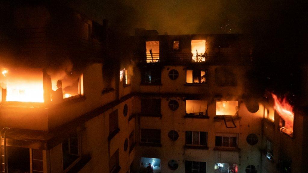 نقل جثمان الشابة المغربية التي قضت في حريق بباريس نحو المغرب